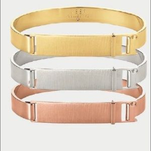 Keep Collective Brushed Rose Gold Bangle